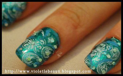 paisley!: Favorite Colors, Polish Nails, Hair Nails Make Up, Paisley Nails, Nails Polish, Popular Nails, Nailart Pictures, Nails Artists, Nail Art