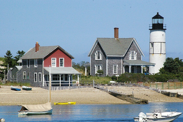 Cottages at Sandy Neck Beach, West Barnstable, Massachusetts (Cape Cod) by dianetotakegreatpics, via Flickr