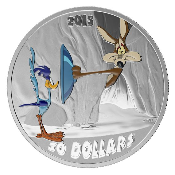 Looney Tunes(TM) Classic Scenes - 2 oz. Fine Silver Coloured 3-Coin Subscription – Mintage: 5,000 (2015)