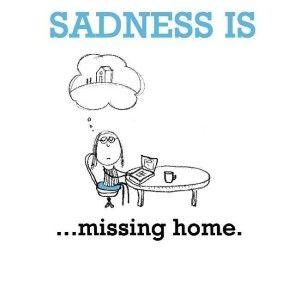 Sweet Missing Home Picture Quotes