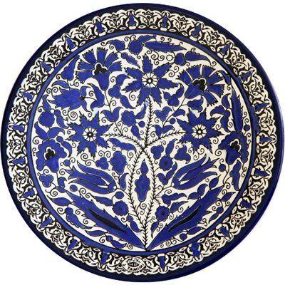 8.95 Gifts/Specialty Religious 2014-06-27 05:53:30.257 Armenian Ceramics AG-17PL22-BLUE Armenian Ceramic Plates 639725303778 1306 0