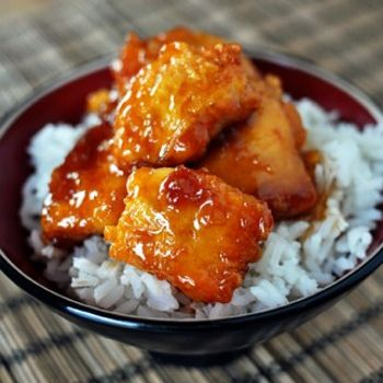 Firecracker Chicken- use Franks Chile Lime for the sauce base.