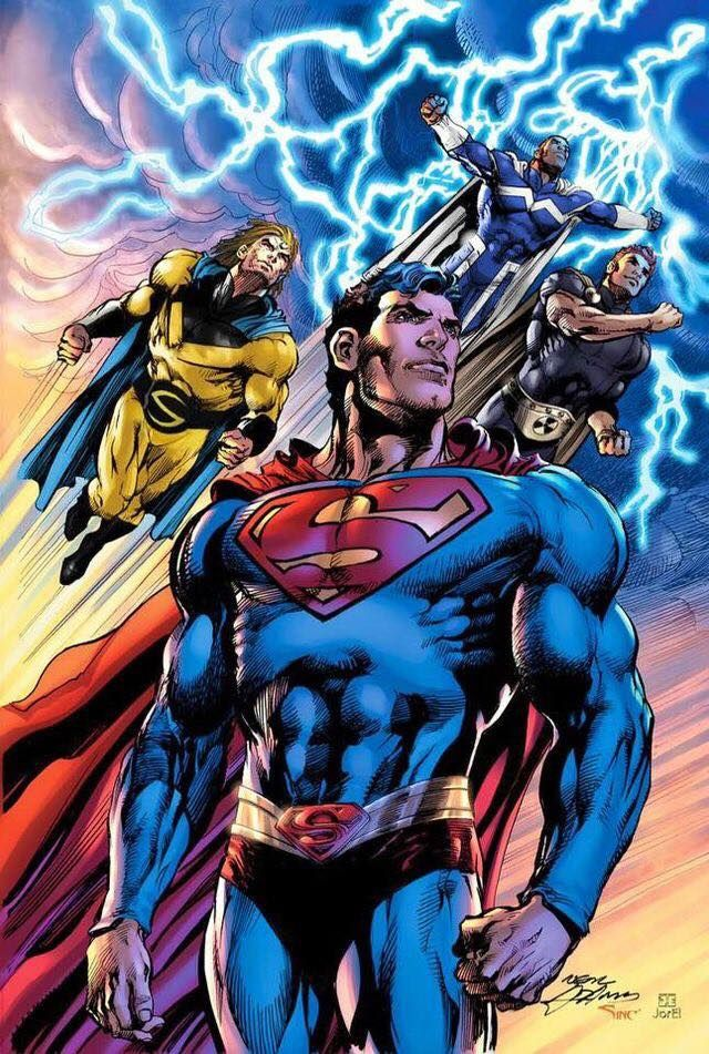 Superman and his Marvel clones by Neal Adams