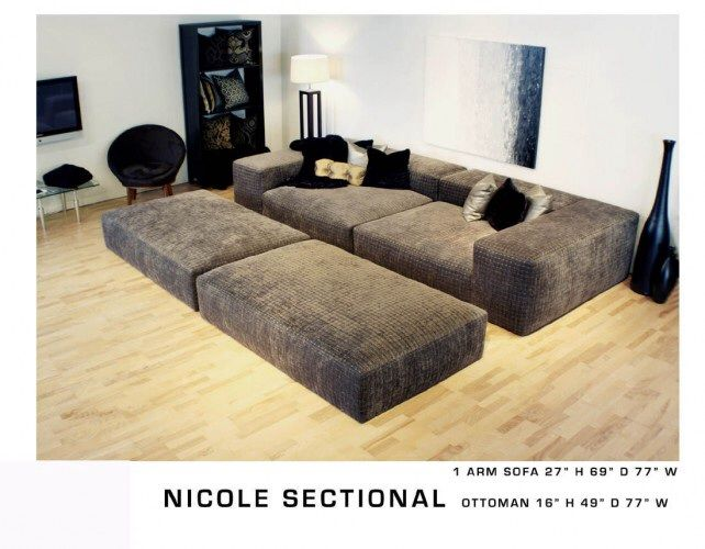 Smaller Pit Sectional Ideas For The House Pinterest