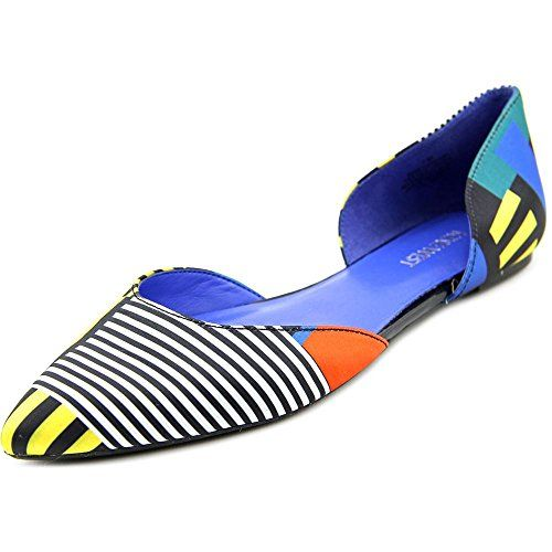 Nine West Womens Starship Fabric Ballet Flat Blue 7 M US ** You can find more details by visiting the image link. Note:It is Affiliate Link to Amazon.