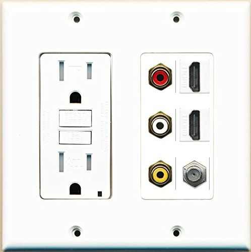 10 best custom gfci wall plates 2 gang by riteav images on on wall outlet id=14790