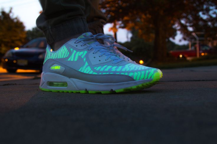 Nike Air Max Glow In The Dark Shoes