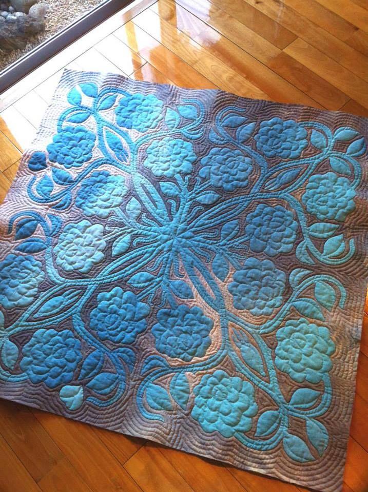 (3) Meg's Hawaiian Quilt