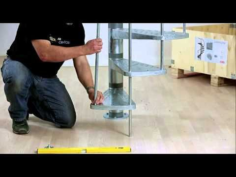 Best Assembly Video Gardenspin Spiral Staircase Youtube 400 x 300