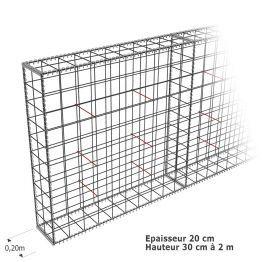 Les 25 meilleures id es concernant cloture pas cher sur pinterest cloture j - Cage gabion pas cher ...
