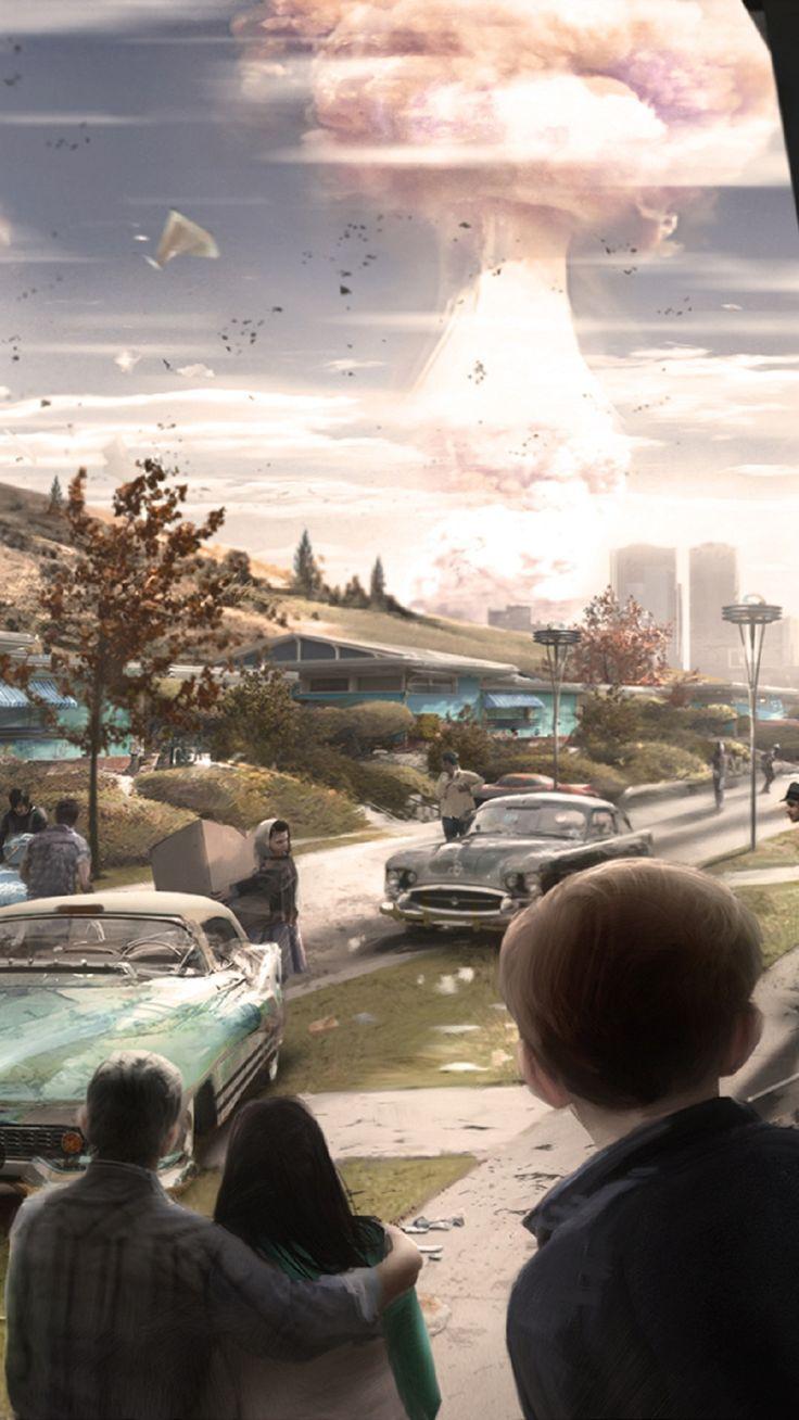 Fallout 4 la gran explosión