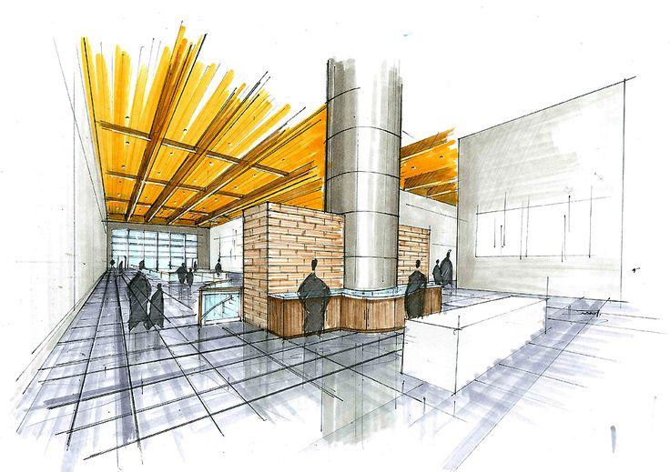 marker sketches by Juan Moreira at Coroflot.com