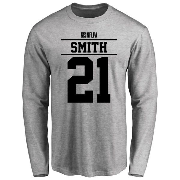 Sean Smith Player Issued Long Sleeve T-Shirt - Ash - $25.95