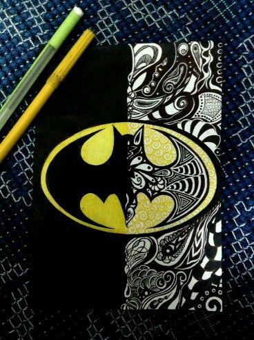 Dibujo de batman                                                       …