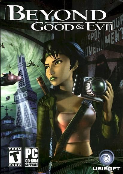 Beyond Good and Evil! They don't make games like this anymore!
