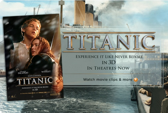 Luv TITANIC collection on QVC airing right now!