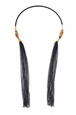 Luisa Torc and Tassel Necklace