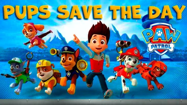 PAW Patrol - New PAW Patrol Episodes For Kids Movie, Cartoon For Childre...