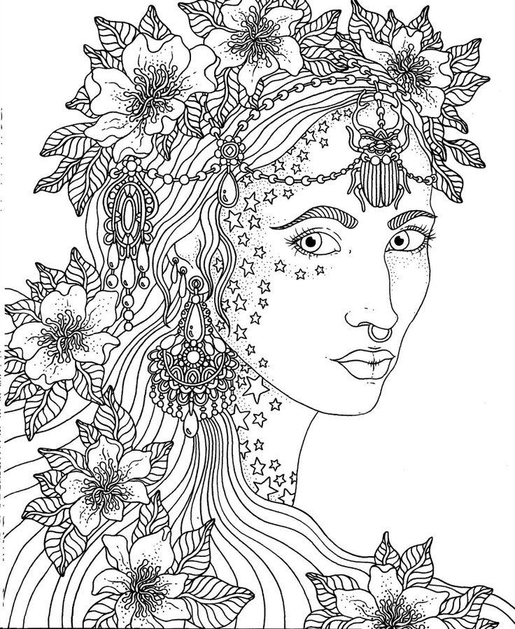 Adult colouring printables image by Kathy Krumenaker on