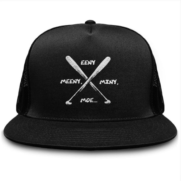 Eeny Meeny Miny Moe Spike Bat TWD Hat