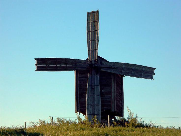 Windmill. - Lehtimäki, Finland.