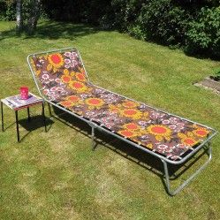 Flower sun lounger
