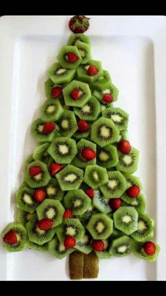Christmas Tree Fruit Platter Best Christmas Recipes