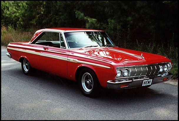 1964 Plymouth Sport Fury  426/425 HP, 4-Speed
