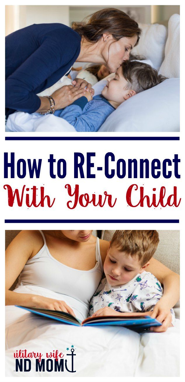How to connect with kids when parenting feels overwhelming. Reconnect with your child. via @lauren9098