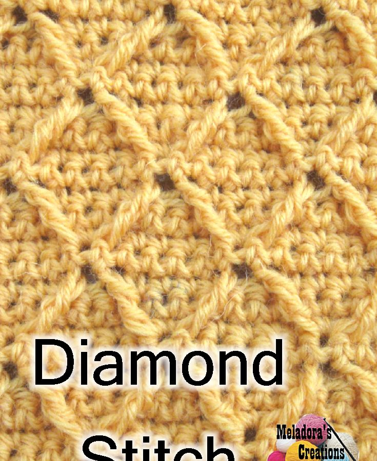 Crochet Stitches Meladora : ... stitches on Pinterest Crochet tutorials, Spikes and Basic crochet