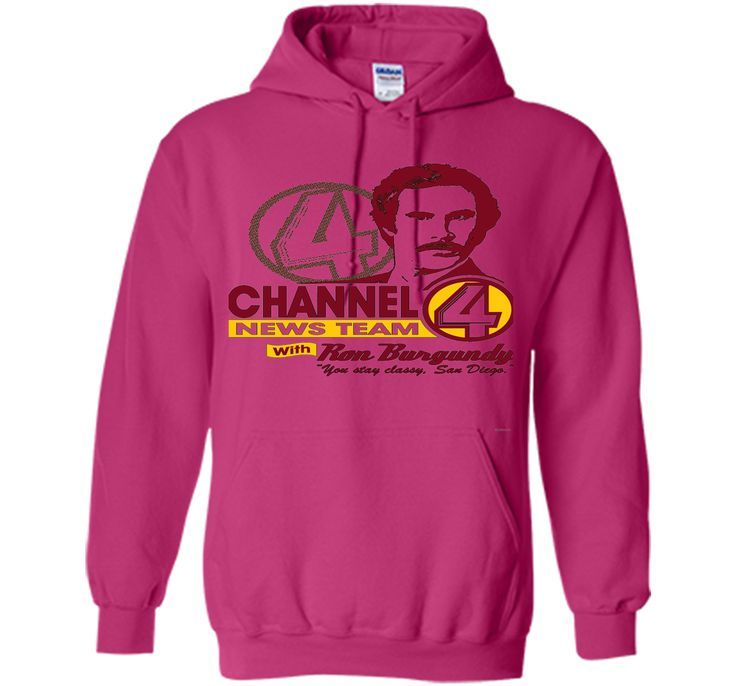 Channel 4 News Team with Ron Burgundy! tshirt