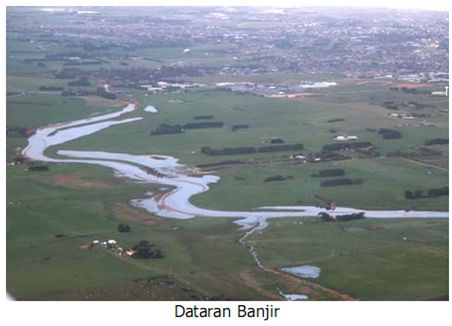 Flood Plains in Estuary  ILMU ADALAH SENJATAMU: Bentukan Fluvial