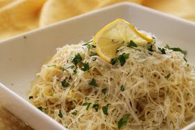 A Girl, a Market, a Meal...: Lovely Lemon Capellini