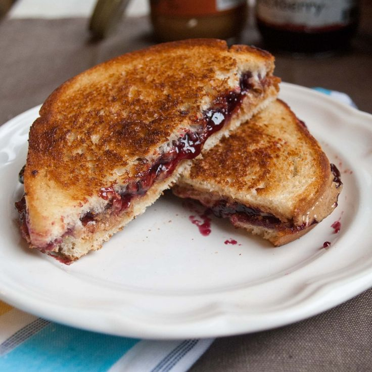 Grilled Peanut Butter and Jelly Sandwich | Recipe