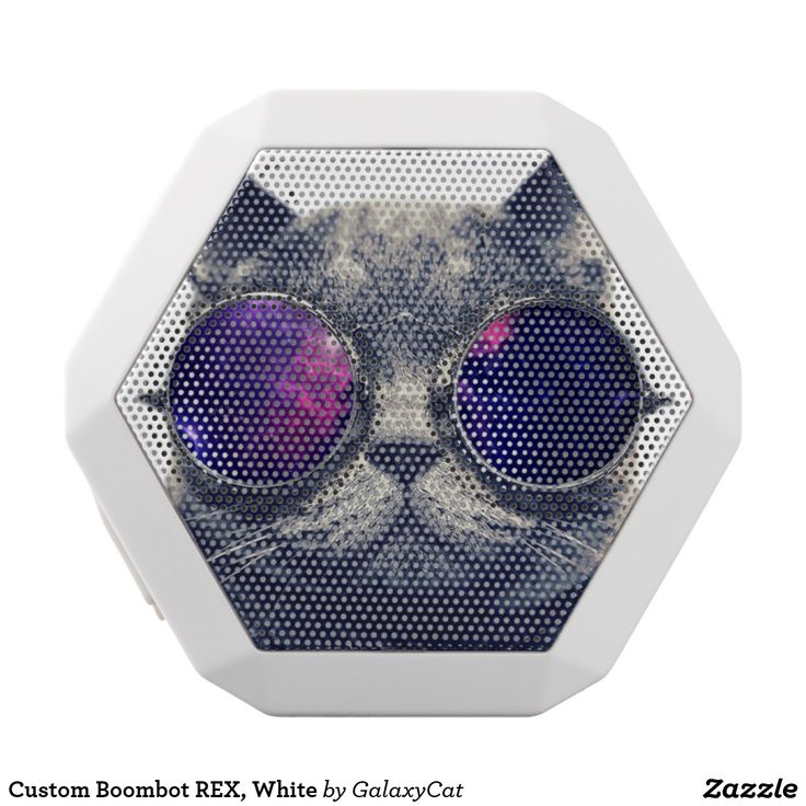 Custom Boombot REX, White. Música, music. Producto disponible en tienda Zazzle. Tecnología. Product available in Zazzle store. Technology. Regalos, Gifts. #bocinas #altavoces #speaker