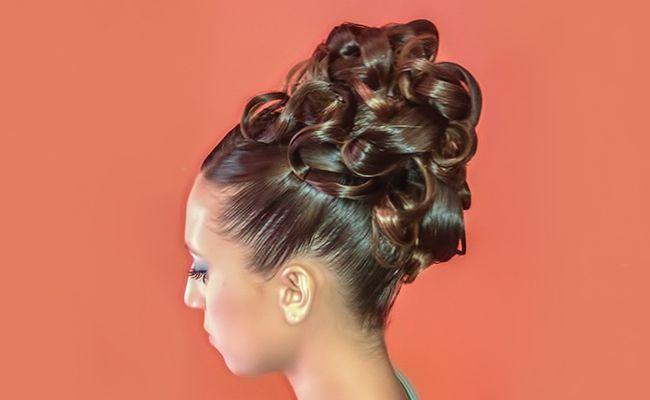 #Peinado elegante #recogido con diferentes tipos de #trenzas, perfecto para #fiesta o #boda | #Elegant #hairstyle collected with different types of #braids, perfect for #party or #wedding #wearetrend #trend #headpieces