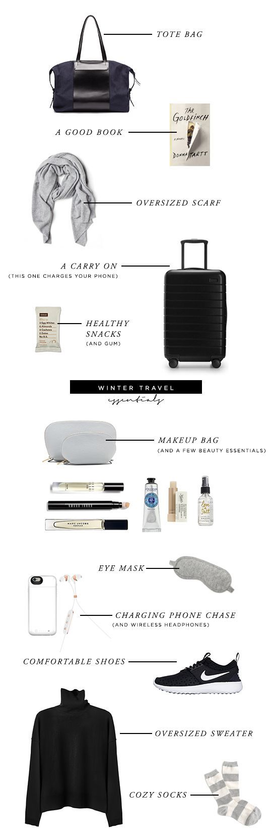 Winter Travel Essentials for a Long Flight