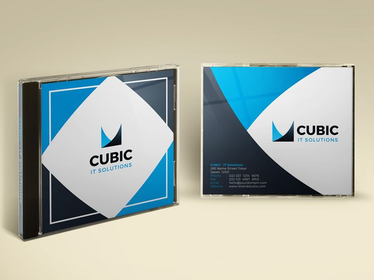 Introduce our latest freebie: Cubic CD Cover Design Template (3 Colors, PSD)
