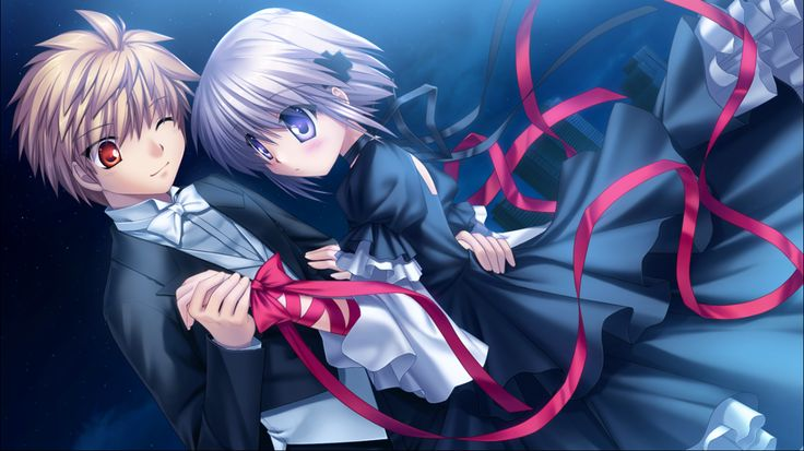 Visual Novel Rewrite   Dance on the Moon  Kagari X Kotarou