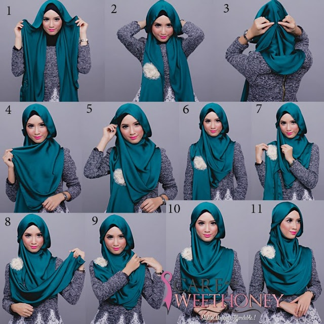 Hijab tutorial, good to know,