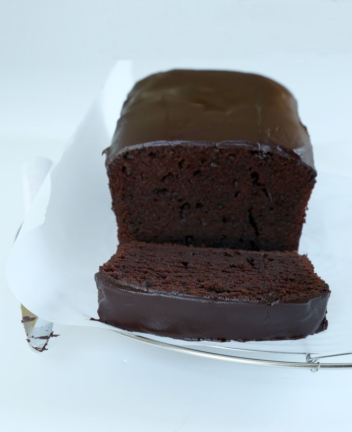 Classic Gluten Free Chocolate Pound Cake | Gluten Free on a Shoestring