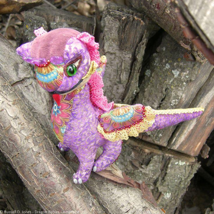 Amethyst Baby Dragon (10) by russelldjones on DeviantArt