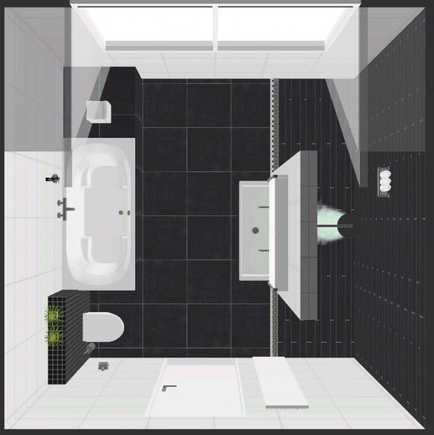 badkamer ontwerpen Ennovy | moderne badkamer met bubbelbad beterbad, inloopdouche, inbouw kranen alpi, en bizassa tegels achter het toilet. Door vossie