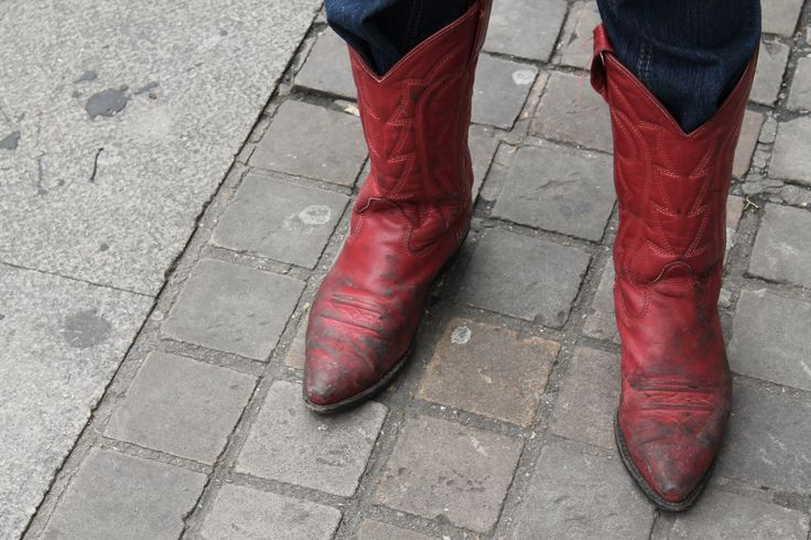 Red Cowgirl. Shoreditch Style