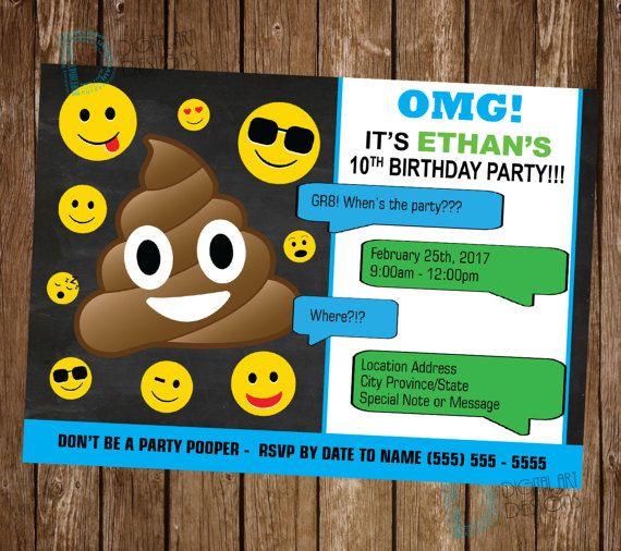 Best 25+ Teen Birthday Invitations Ideas On Pinterest