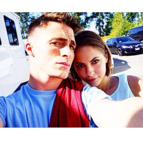 Arrow - Colton Haynes & Willa Holland