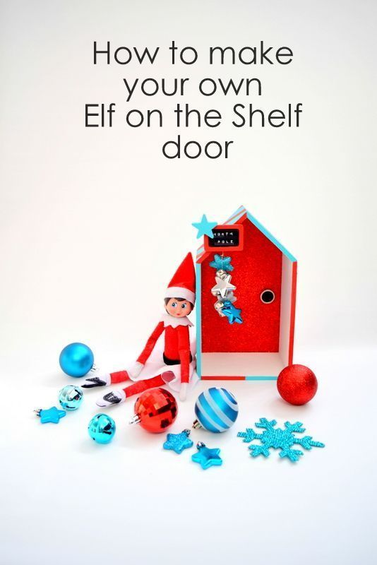 1000 images about christmas op pinterest for Homemade elf door