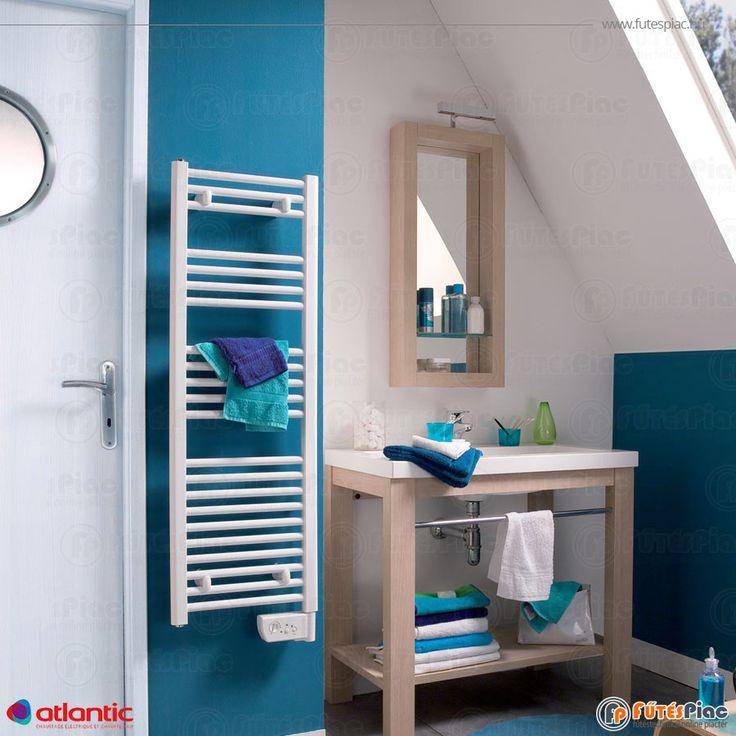 Atlantic RSS 2012 KESKENY Fürdőszobai törölközőszárító radiátor 500 W