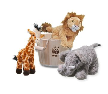 Get a plush when you donate to symbolically adopt an elephant and help WWF's global conservation efforts.