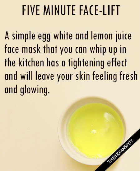 Top Five Egg Face Masks for tighter wrinkle free skin